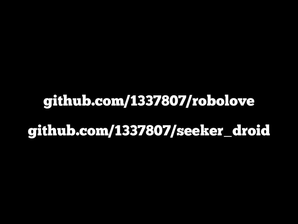 github.com/1337807/robolove github.com/1337807/...