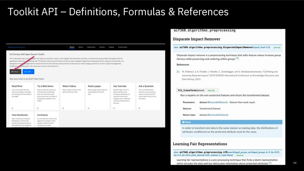 Toolkit API – Definitions, Formulas & Reference...