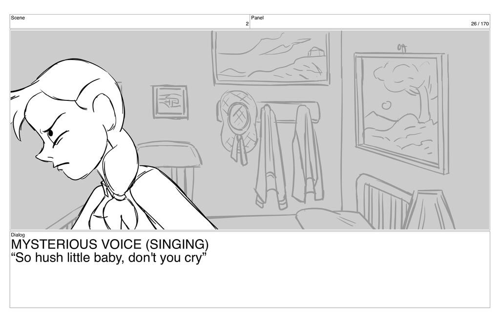 Scene 2 Panel 26 / 170 Dialog MYSTERIOUS VOICE ...