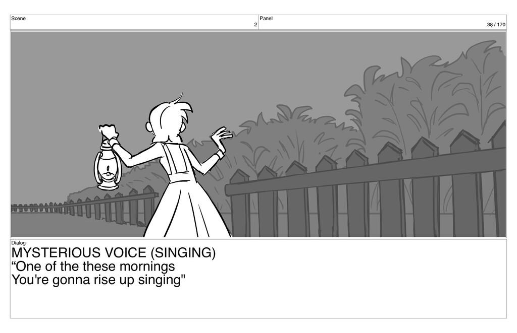 Scene 2 Panel 38 / 170 Dialog MYSTERIOUS VOICE ...