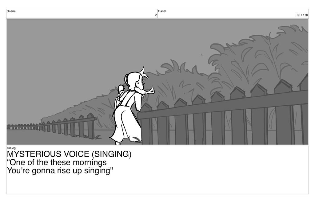 Scene 2 Panel 39 / 170 Dialog MYSTERIOUS VOICE ...