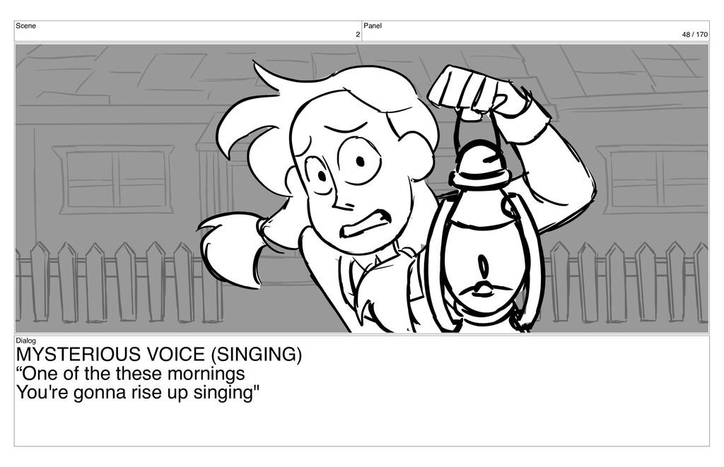 Scene 2 Panel 48 / 170 Dialog MYSTERIOUS VOICE ...