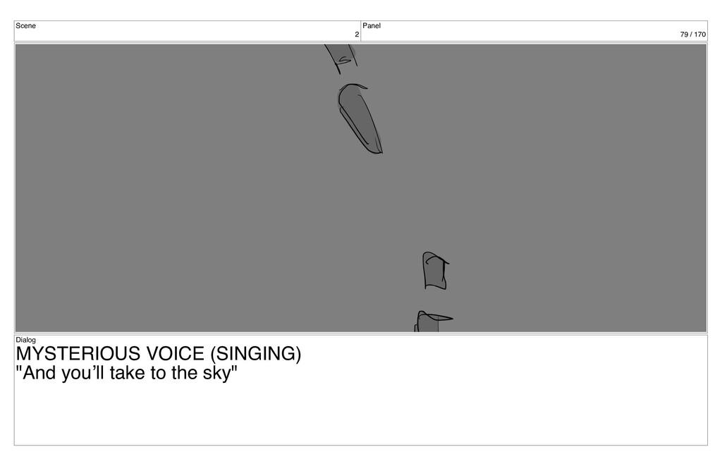 Scene 2 Panel 79 / 170 Dialog MYSTERIOUS VOICE ...