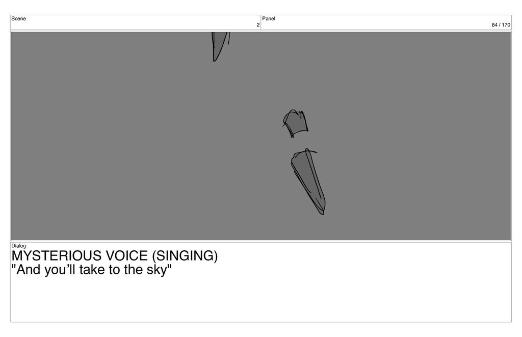 Scene 2 Panel 84 / 170 Dialog MYSTERIOUS VOICE ...