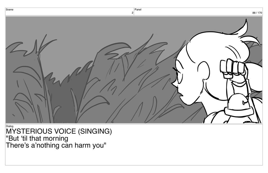 Scene 2 Panel 88 / 170 Dialog MYSTERIOUS VOICE ...