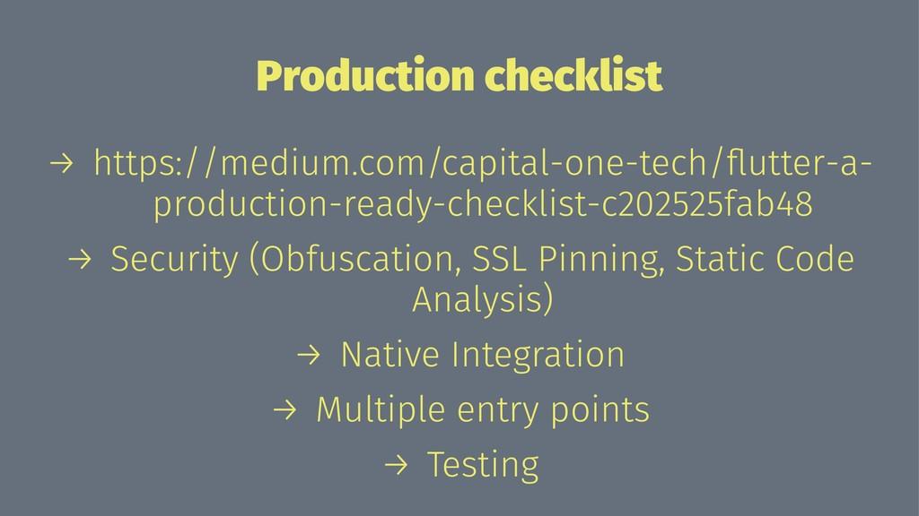 Production checklist → https://medium.com/capit...