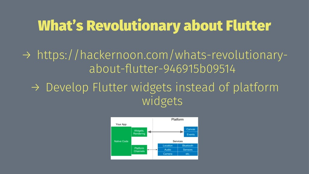 What's Revolutionary about Flutter → https://ha...