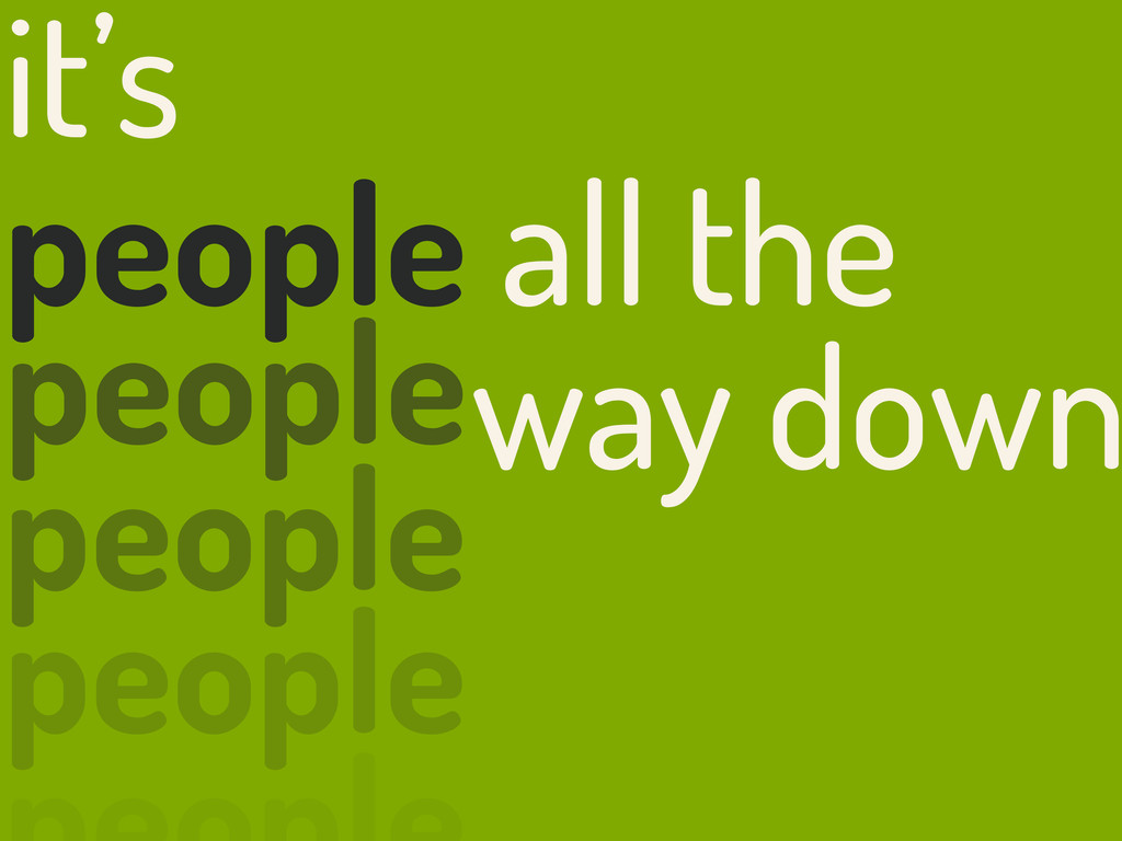 it's people all the people people people way do...