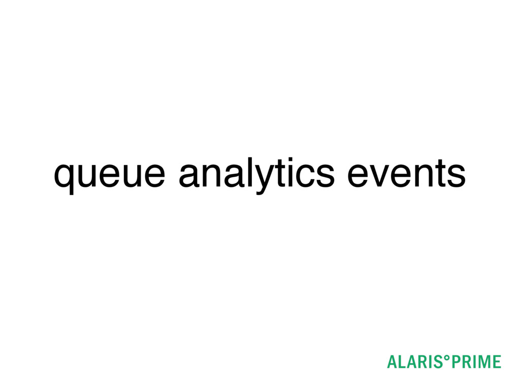 queue analytics events