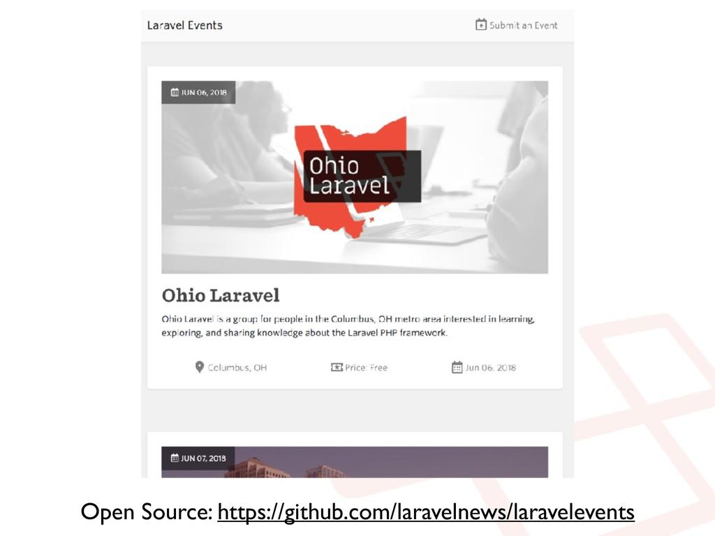 Open Source: https://github.com/laravelnews/lar...