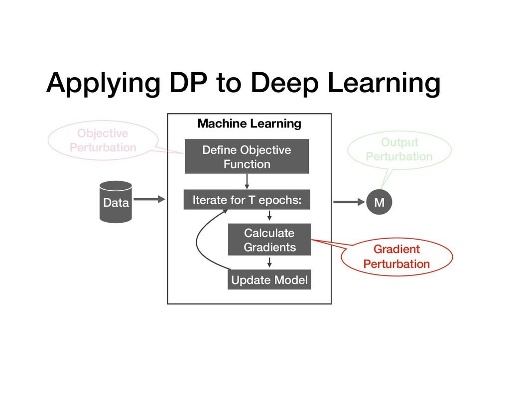 Applying DP to Deep Learning Data Machine Learn...