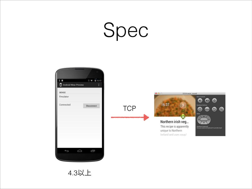 Spec TCP 4.3Ҏ্