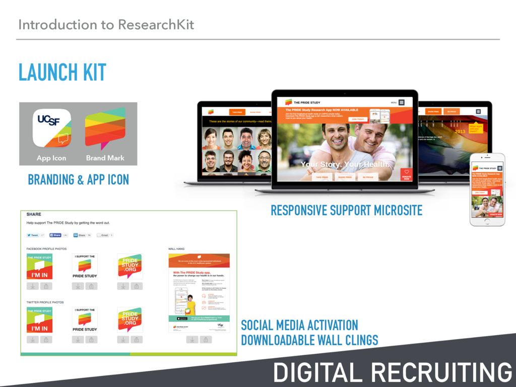 Introduction to ResearchKit LAUNCH KIT DIGITAL ...