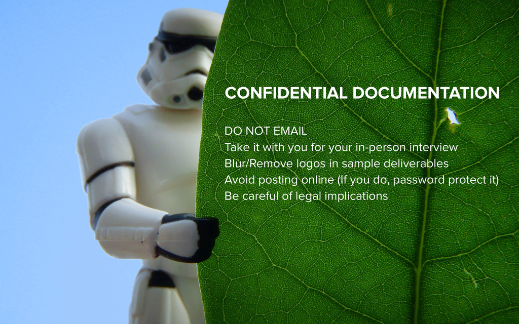 CONFIDENTIAL DOCUMENTATION DO NOT EMAIL Take it...