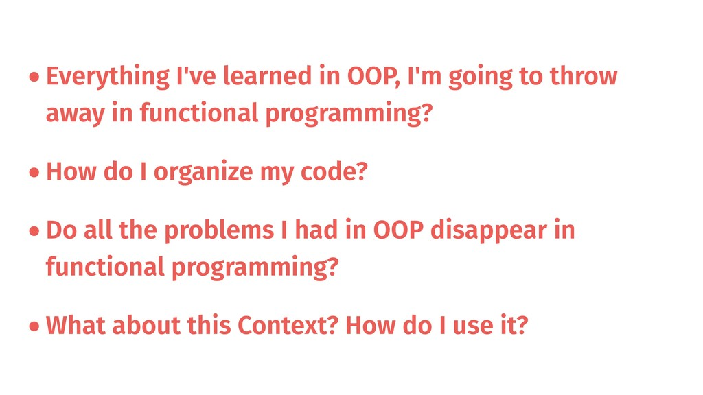•Everything I've learned in OOP, I'm going to t...
