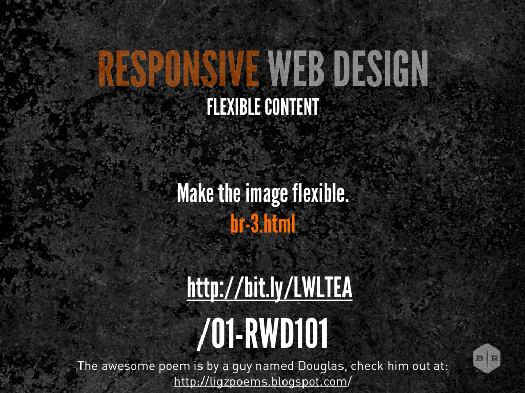 RESPONSIVE WEB DESIGN FLEXIBLE CONTENT The awes...