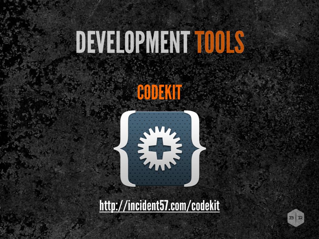 CODEKIT DEVELOPMENT TOOLS http://incident57.com...