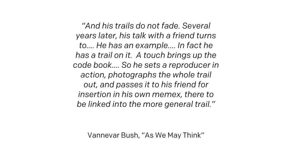 """""""And his trails do not fade. Several years late..."""