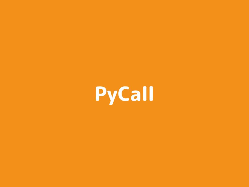 PyCall