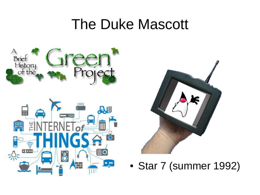The Duke Mascott ● Star 7 (summer 1992)