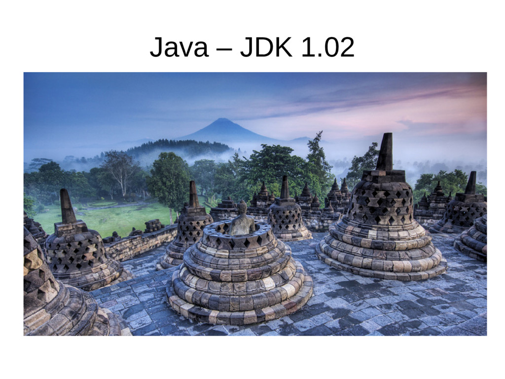 Java – JDK 1.02