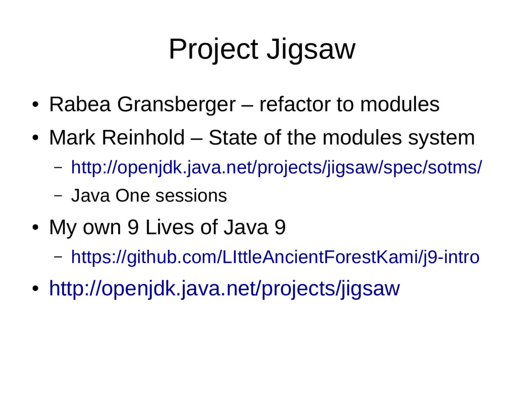 Project Jigsaw ● Rabea Gransberger – refactor t...