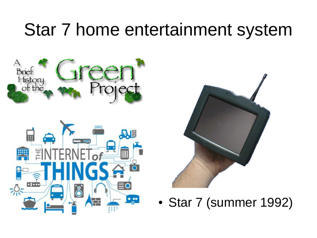 Star 7 home entertainment system ● Star 7 (summ...