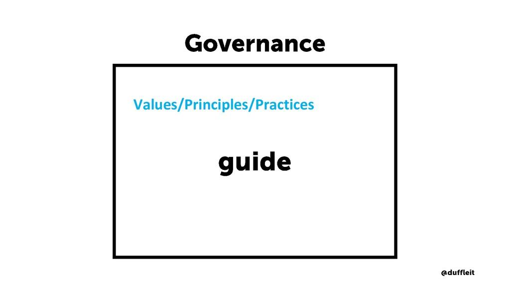 Values/Principles/Practices