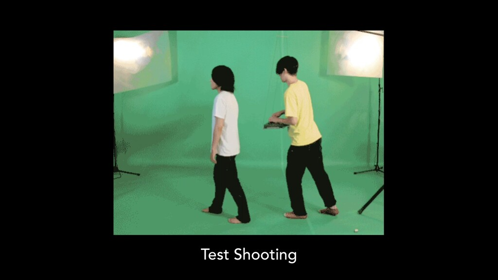 Test Shooting