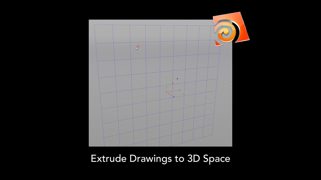 Extrude Drawings to 3D Space