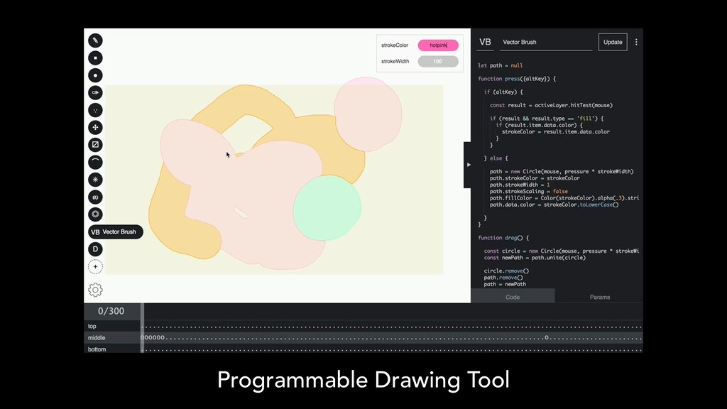Programmable Drawing Tool