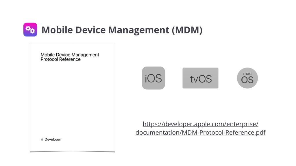 https://developer.apple.com/enterprise/ documen...