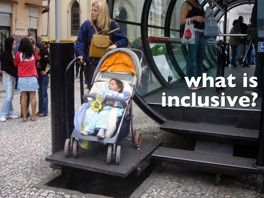 what is inclusive?