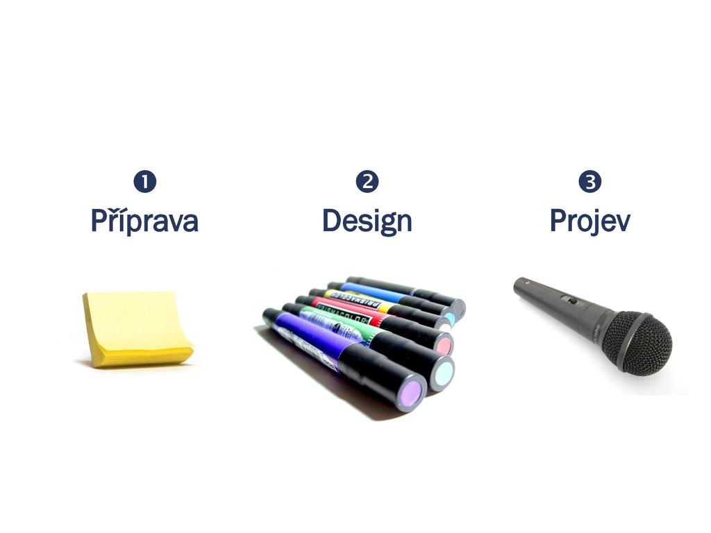  Příprava  Design  Projev