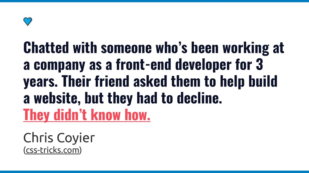 Your job as a web developer is to build beautif...
