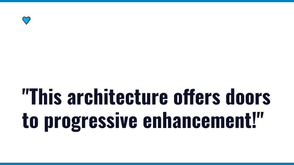 """""""This architecture offers doors to progressive ..."""