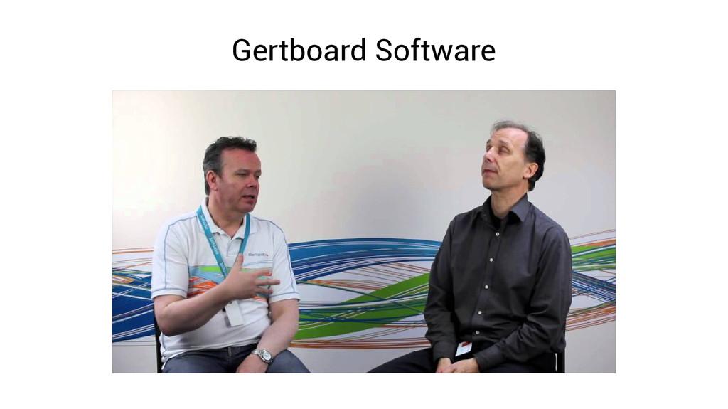 Gertboard Software