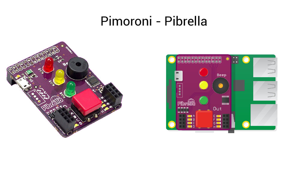 Pimoroni - Pibrella