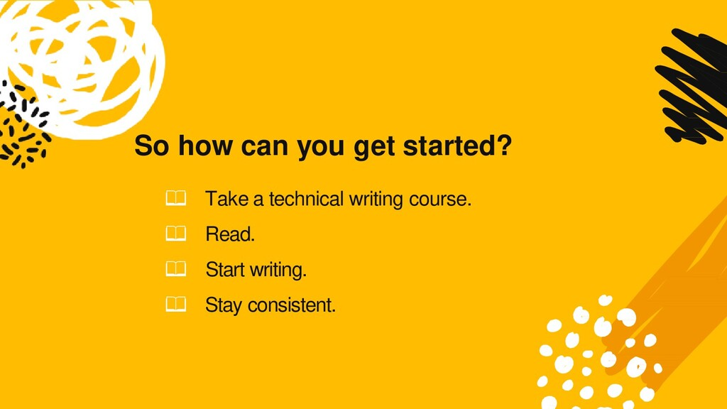 So how can you get started? 📖 Take a technical ...