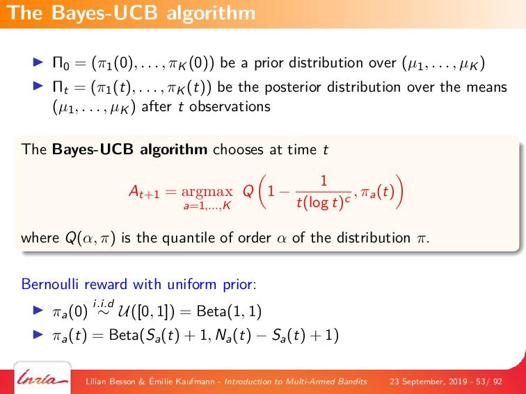 Π0 = (π1(0), . . . , πK (0)) be a prior distrib...