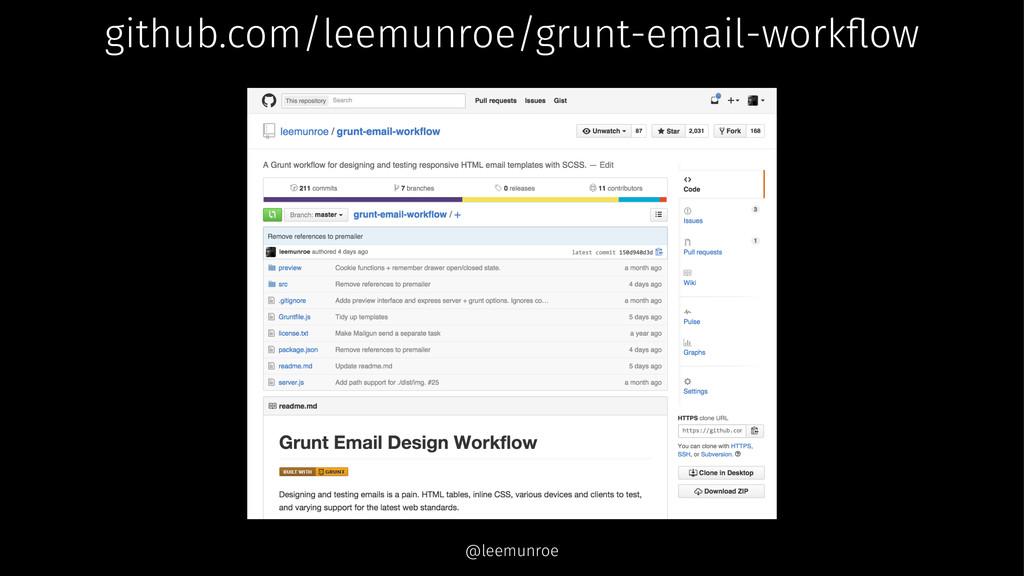 github.com/leemunroe/grunt-email-workflow @leemu...