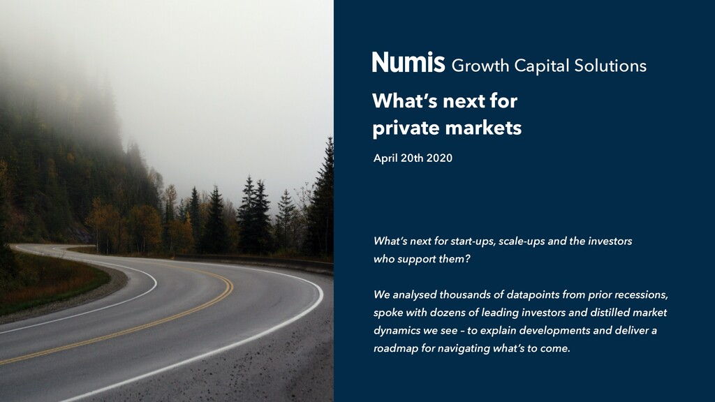 What's next for private markets What's next for...