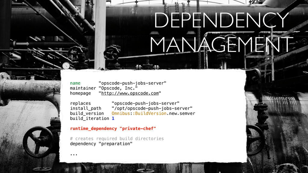 "DEPENDENCY MANAGEMENT name ""opscode-push-jobs-s..."