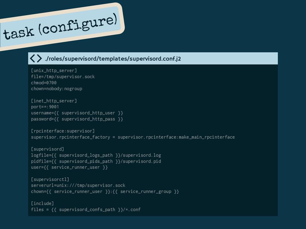 task (configure) [unix_http_server] file=/tmp/s...
