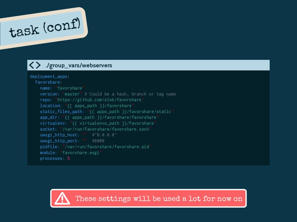 task (conf) deployment_apps: favorshare: name: ...