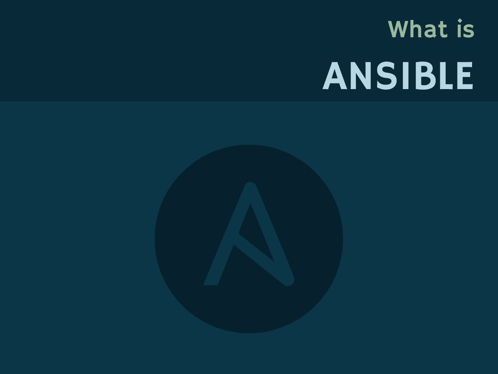 What is ANSIBLE