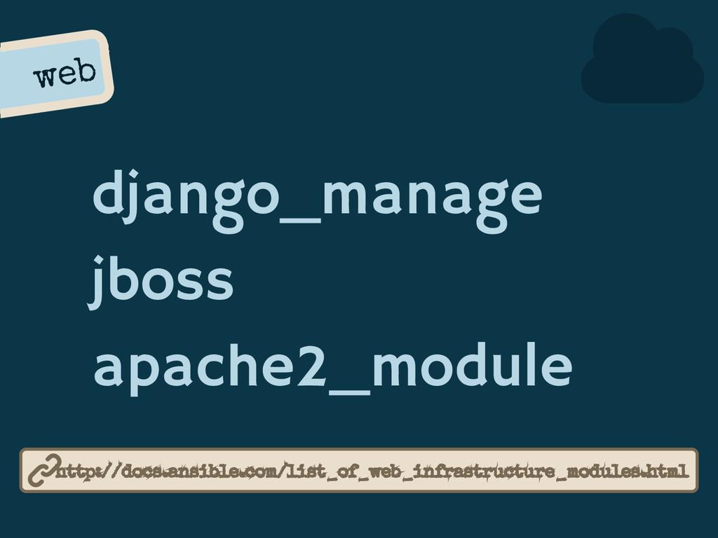 web django_manage jboss apache2_module http://d...