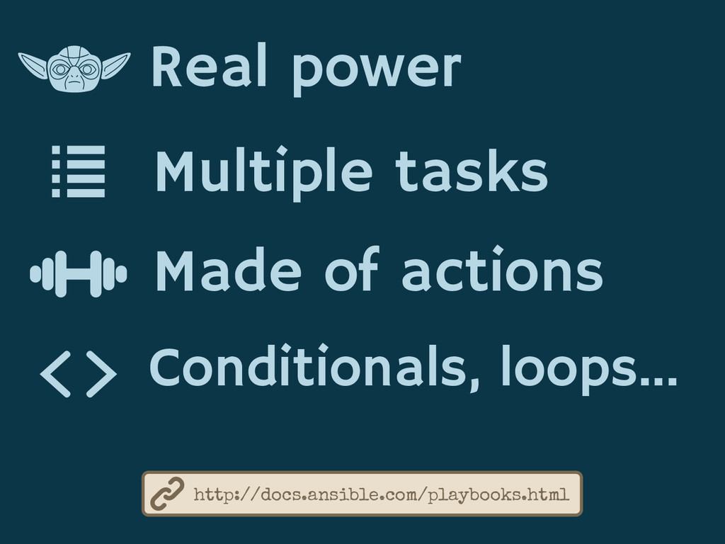 Real power Multiple tasks Made of actions http:...