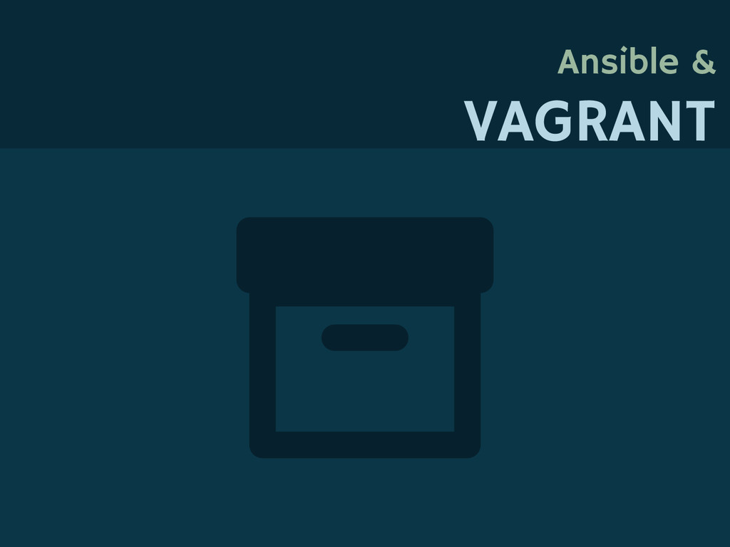 Ansible & VAGRANT