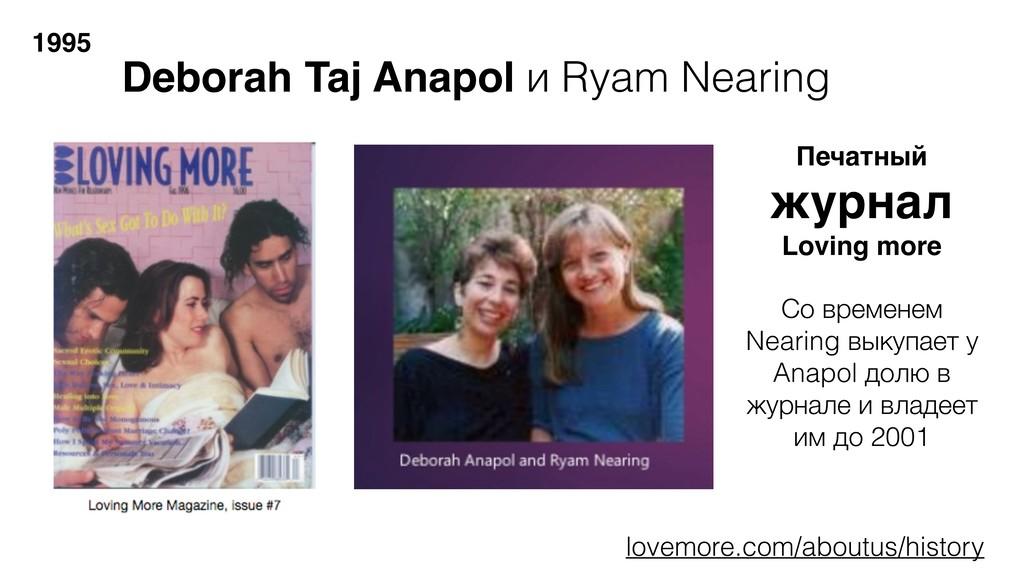 1995 Deborah Taj Anapol и Ryam Nearing Со време...